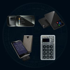 Hardware wallet air gapped